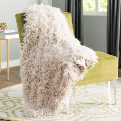Beachdale Faux Fur Throw