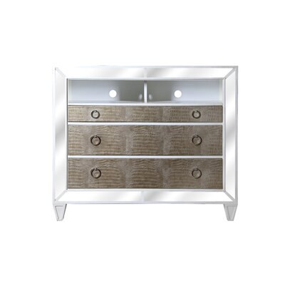 Ponti 3 Drawer Media Chest