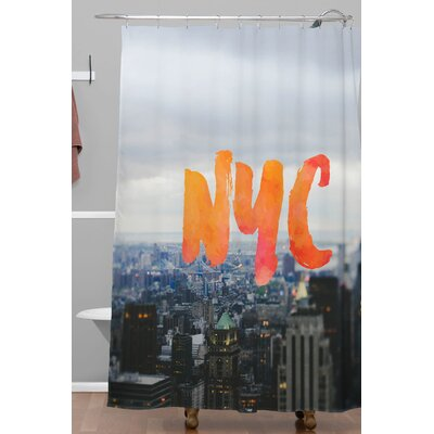 Blake NYC Skyline Polyester Shower Curtain