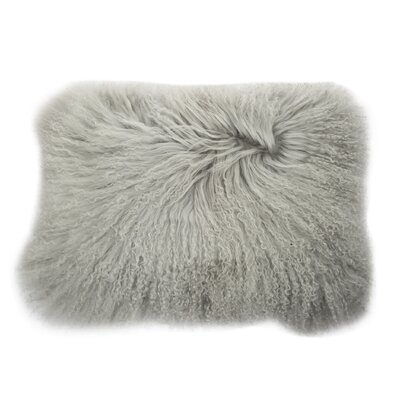 Graham Rectangular Throw Pillow Color: Grey
