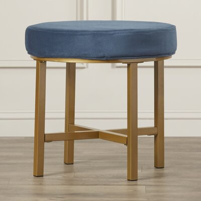 Henson Round Ottoman Upholstery Color: Midnight