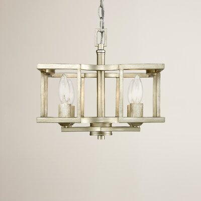 Zubair 4-Light Semi Flush Mount