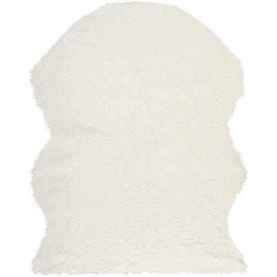 Nichols Ivory Area Rug Rug Size: 8' x 10'