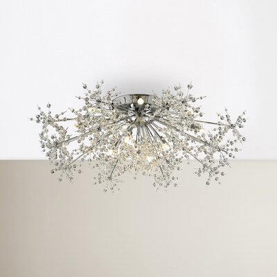 Crawford 13-Light Semi Flush Mount