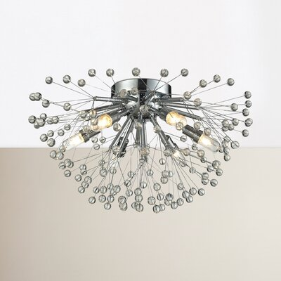 Spielberg 6-Light Semi Flush Mount