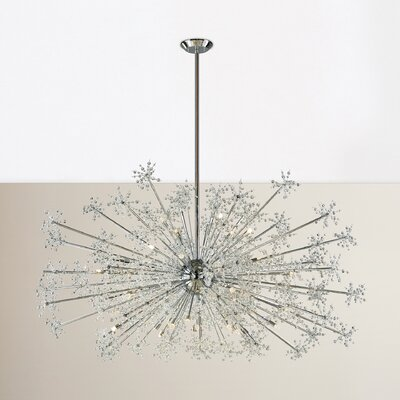 Crawford 30-Light Crystal Chandelier