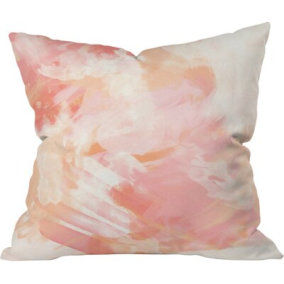 Blake Watercolor Outdoor Throw Pillow Size: 16 H x 16 W x 4 D