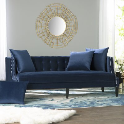 Kinsley Sofa Upholstery: Navy Blue