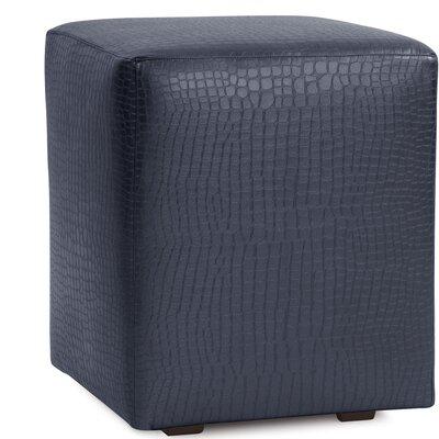 Ethel Gator Cube Ottoman Upholstery: Indigo
