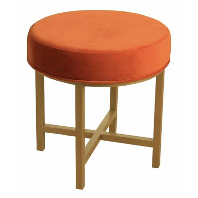 Brookhaven Round Ottoman Upholstery Color: Tuscany