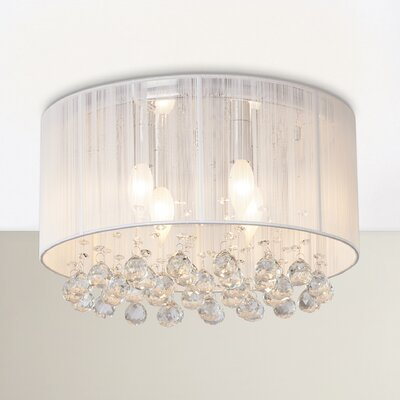 Hemel 4-Light Flush Mount