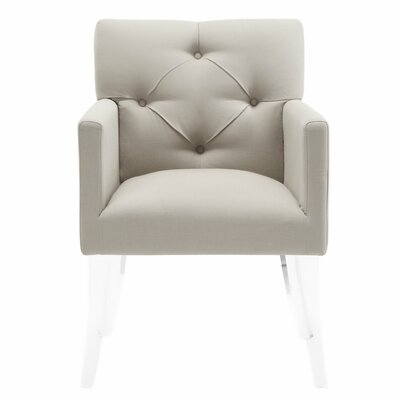Ignmar Arm Chair Upholstery: Beige