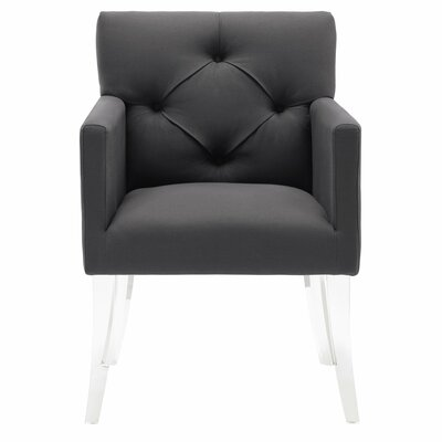 Ignmar Arm Chair Upholstery: Gray