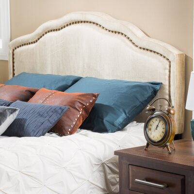 Velvet King Upholstered Panel Headboard