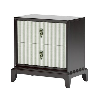 Deadra 2 Drawer Nightstand