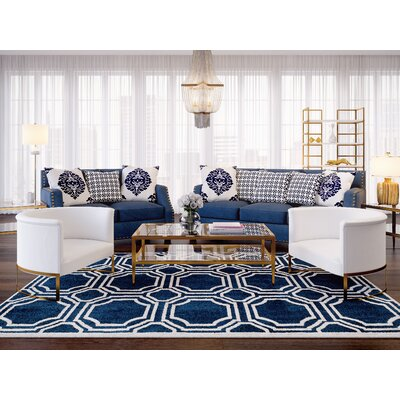 Humphrey Sloped 2 Piece Living Room Set