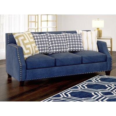 Humphrey Sloped Sofa Upholstery: Navy