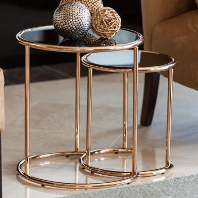 Bardette 2 Piece Nesting Table
