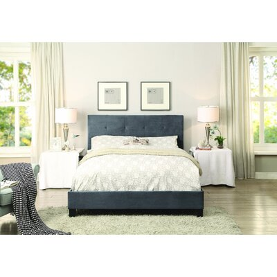 Chalgrave Upholstered Platform Bed Upholstery: Grey, Size: California King