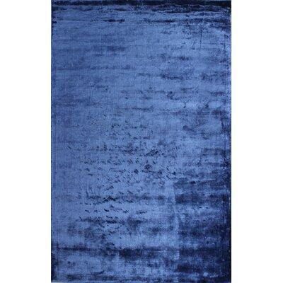 "Harry Hand-Woven Cobalt Area Rug Rug Size: 7'9"" x 9'9"" MRCR3740 30510575"