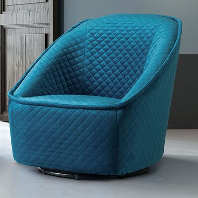 Roberdeau Swivel Barrel Chair