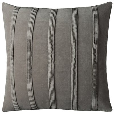 Bard Velvet Throw Pillow Color: Gray