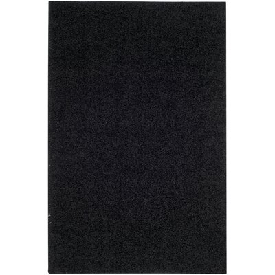 Cheney Black Area Rug Rug Size: Rectangle 51 x 76