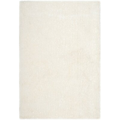 Aston Hand-Tufted Cream Area Rug Rug Size: Rectangle 4 x 6