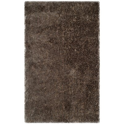 Chapman Hand-Tufted Brown Area Rug Rug Size: 3 x 5