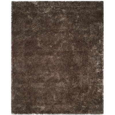 Chapman Hand-Tufted Brown Area Rug Rug Size: Rectangle 8 x 10
