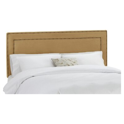 Rufus Upholstered Panel Headboard Size: King