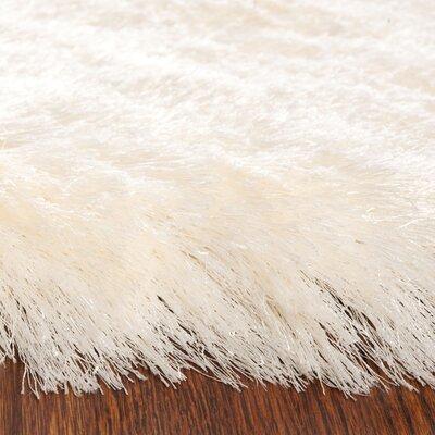 Fonda Ivory Area Rug Rug Size: 3 x 5