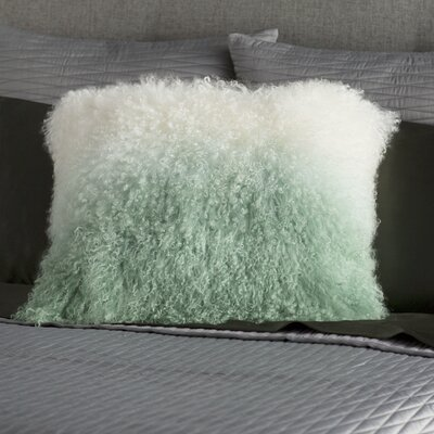 Gosling Lamb Throw Pillow Color: Light Green