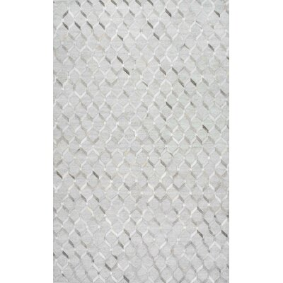 Shier Handmade Gray Area Rug Rug Size: Rectangle 4 x 6