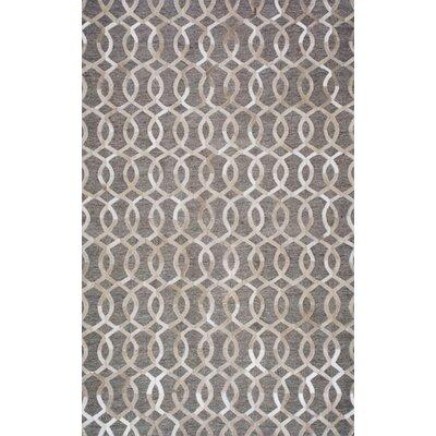 Cecilia Handmade Beige Area Rug Rug Size: 5 x 8