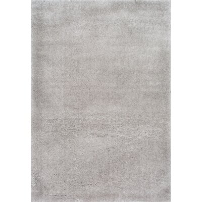 Gian Silver Area Rug Rug Size: Rectangle 53 x 76