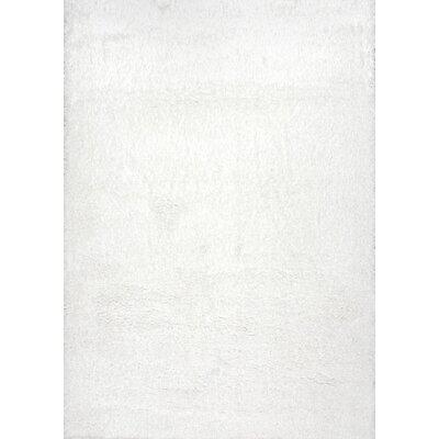 Celsian White Area Rug Rug Size: 67 x 9