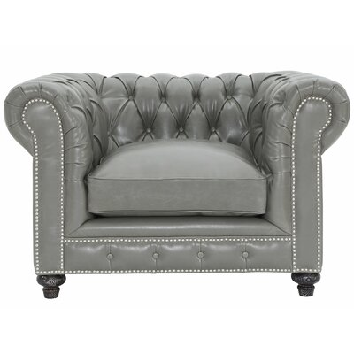 Cateline Leather Chesterfield Chair