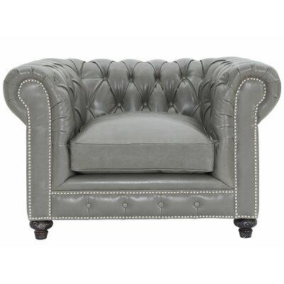 Bustam Leather Club Chair