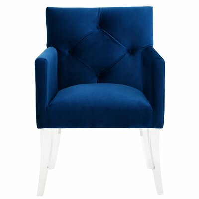 Ignmar Armchair Color: Navy