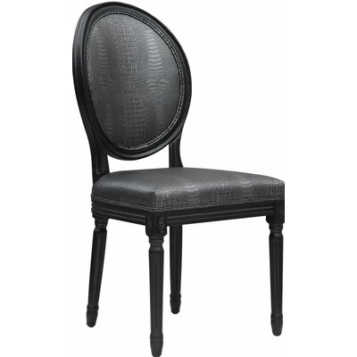 Ilda Croc Side Chair