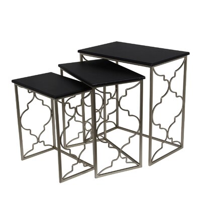 Filippo 3 Piece Nesting Tables