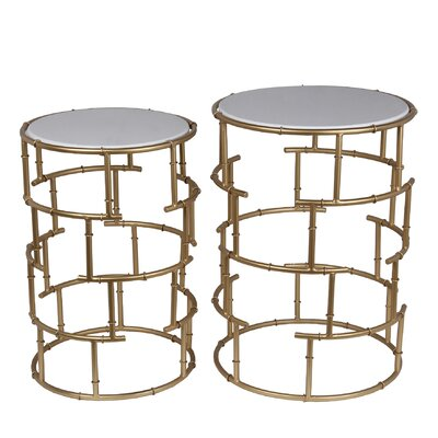 Canavest 2 Piece Nesting Tables