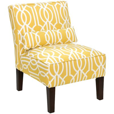 Thurston Slipper Chair Upholstery: Deco Barley