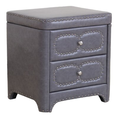 Chianna 2 Drawer Nightstand