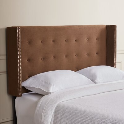 Nadene Queen Upholstered Wingback Headboard