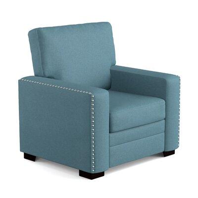 Blanchett Armchair Upholstery: Blue