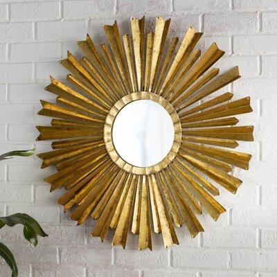 Aurora Sunburst Oversized Wall Mirror