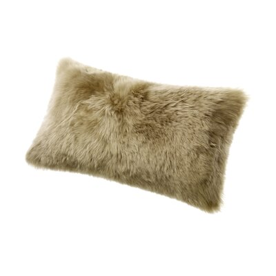 Brookhill Lumbar Pillow Color: Taupe