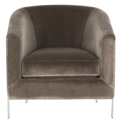 Reynaldo Barrel Chair Upholstery: Giotto Grey